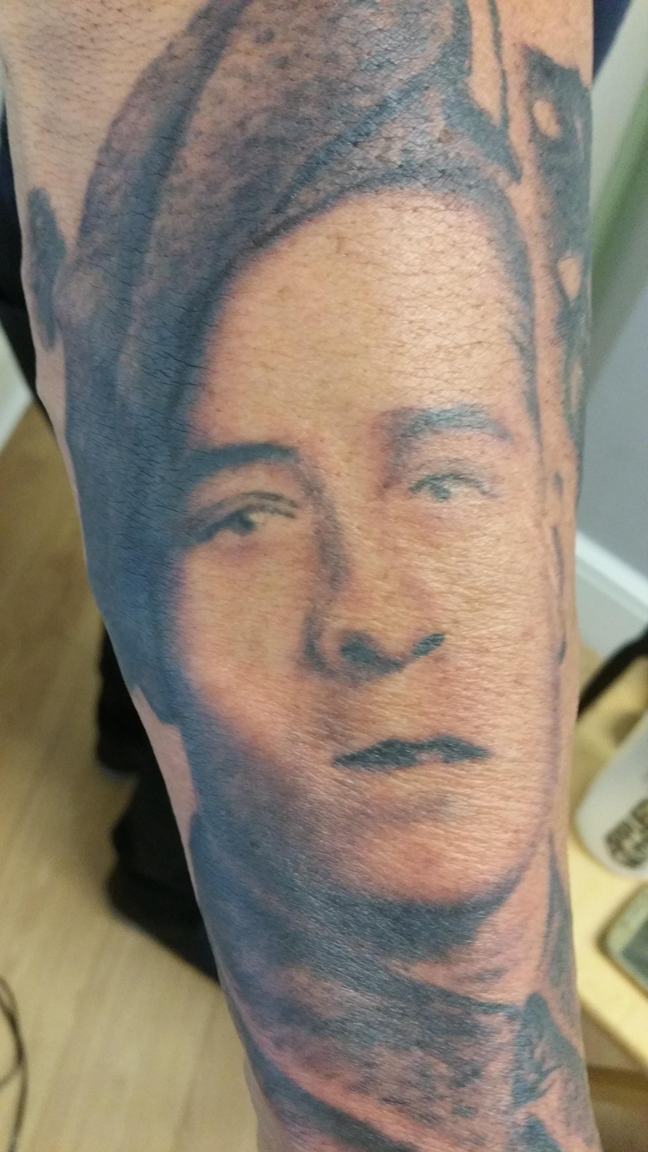 Portrait Tattoos Inkedskin Altrincham Manchester Inkedskin